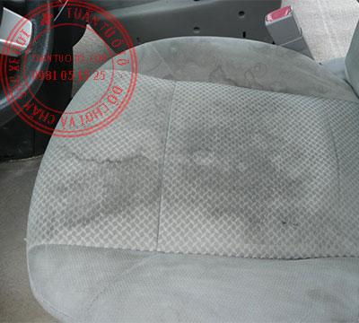 áo ghế ô tô bằng vải