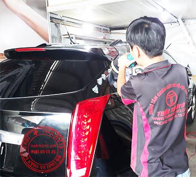 dịch vụ đánh bóng xe ô tô tại tphcm