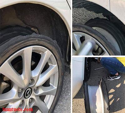 áp suất lốp xe hơi