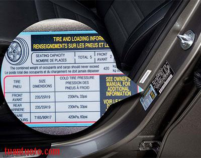lốp xe ô tô mấy kg
