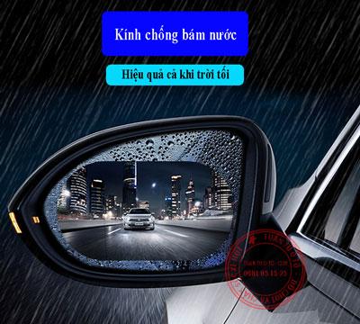 miếng dán chống nước và chống lóa cho gương chiếu hậu xe