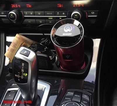 máy lọc không khí ô tô sharp