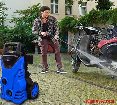 máy rửa xe gia đình Kachi