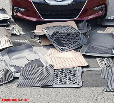các loại thảm lót sàn ô tô