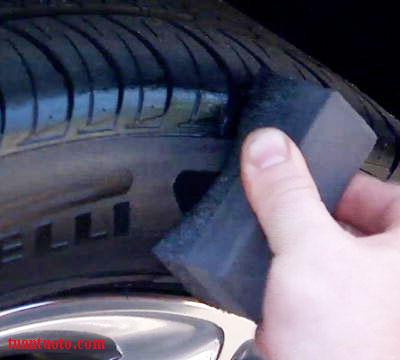 dung dịch dưỡng vỏ xe ô tô