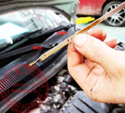 quy trình thay nhớt xe ô tô